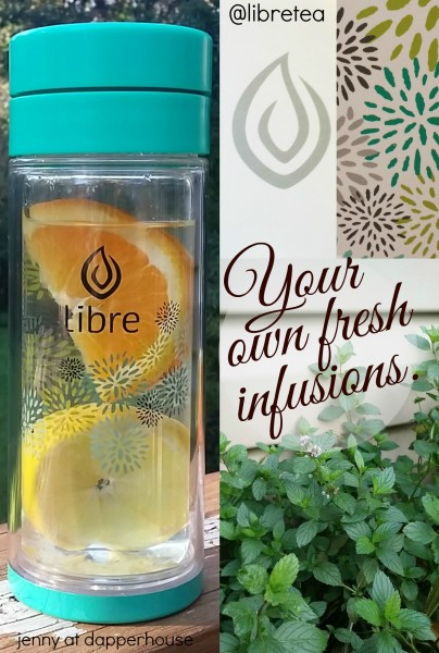Infuse your water with the freshest ingredients with @libretea Tea glasses in new designs and filter screens @dapperhouse #ad @libretea