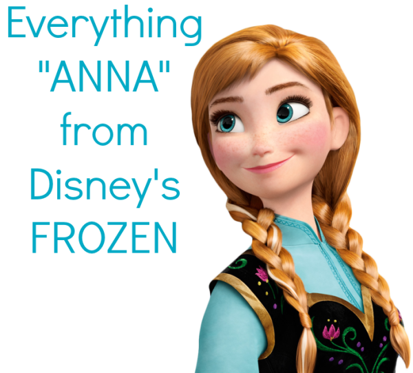 49476f45 Everything Anna from Disney's FROZEN