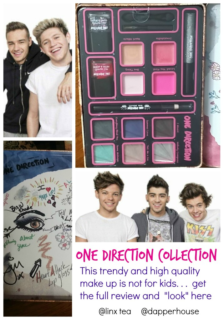 One Direction Make Up Collections are not for kids! They are high quality products that give you the hottest looks @BrandBacker @linxtea @dapperhouse #ad