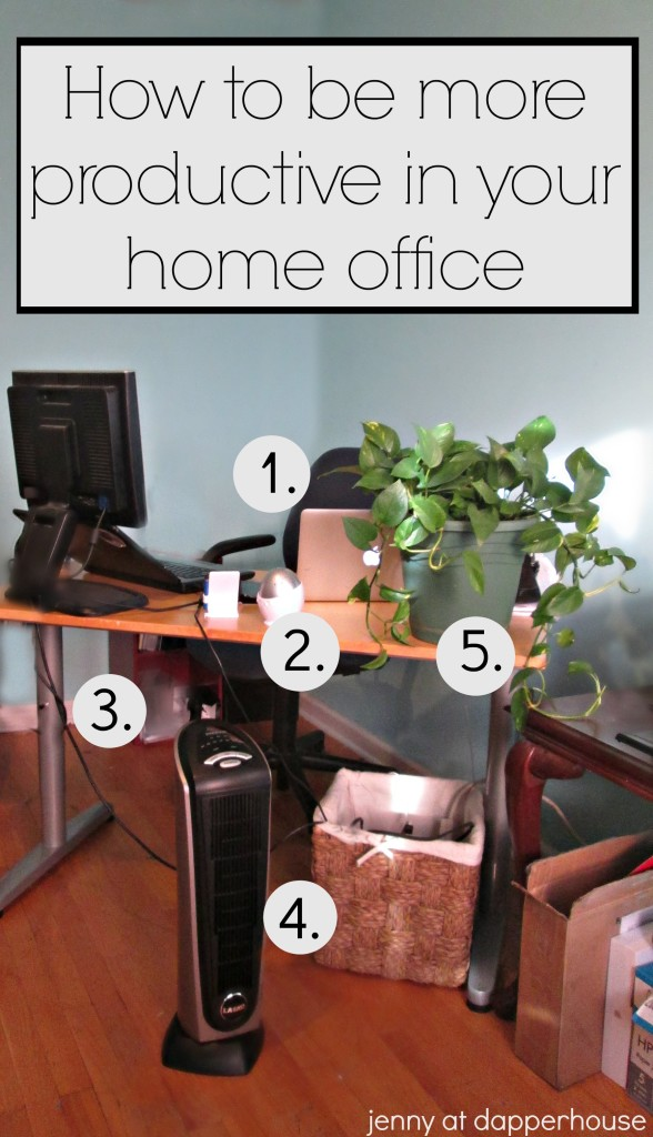 How to be more productive from your home office @dapperhouse Work from Home