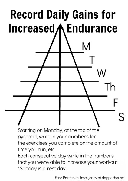 ncrements of Success for Fitness Inspiration to Challenge Yourself and Build Endurance @dapperhouse