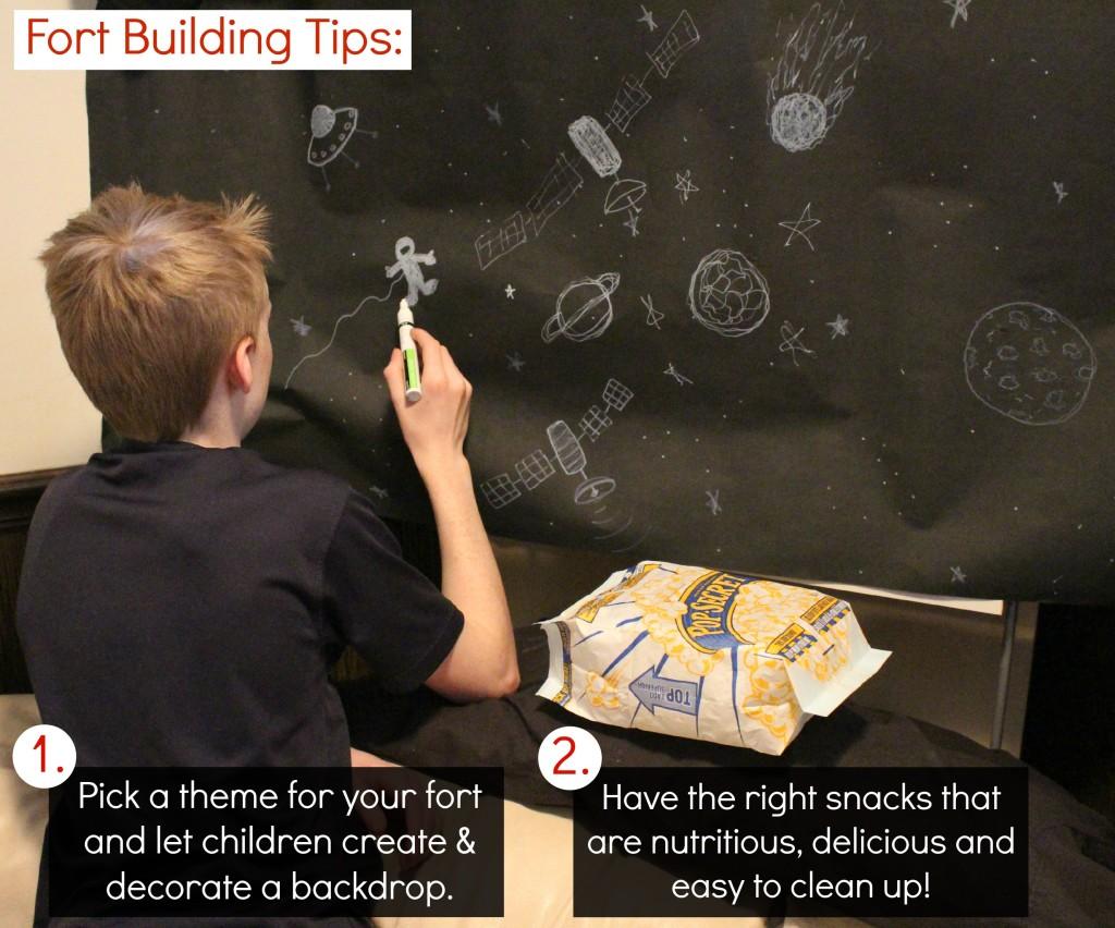 Fort Building Tips for parents and kids @dapperhouse #PopSecretForts #sp