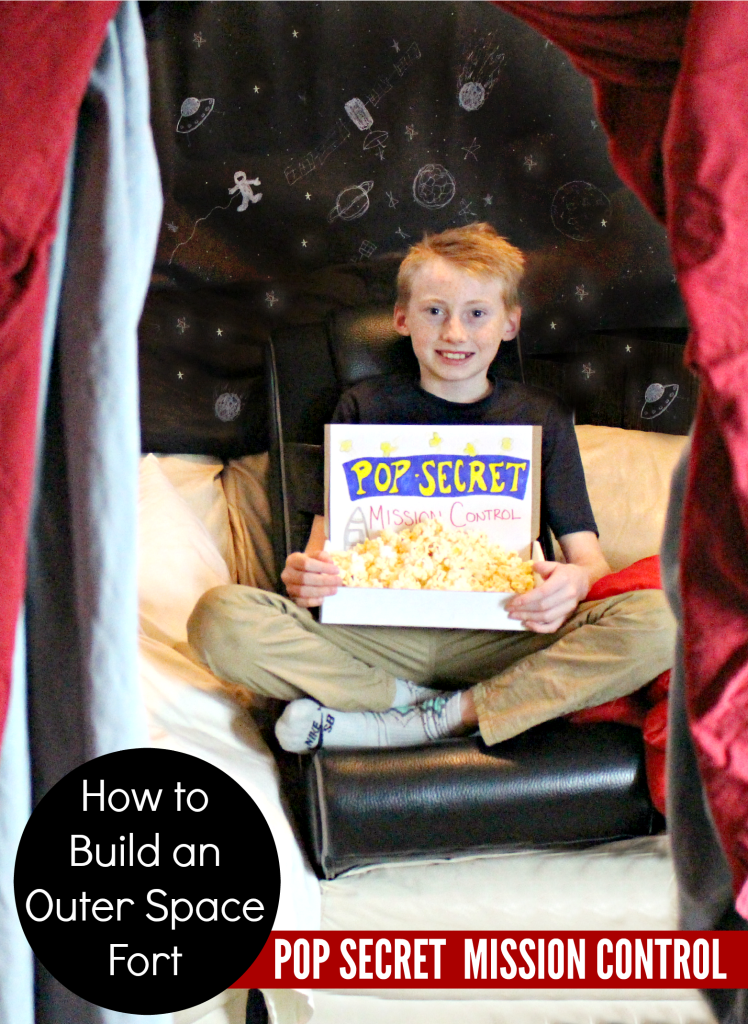 How to build an outer space fort Top Secret Mission Control #PopSecretForts #sp   @dapperhouse