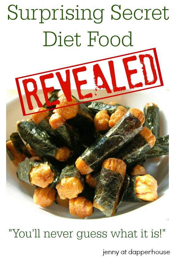 Surprising Secret Diet Food - You'll never guess what it is! @dapperhouse #diet #nutrition #secret #weightloss