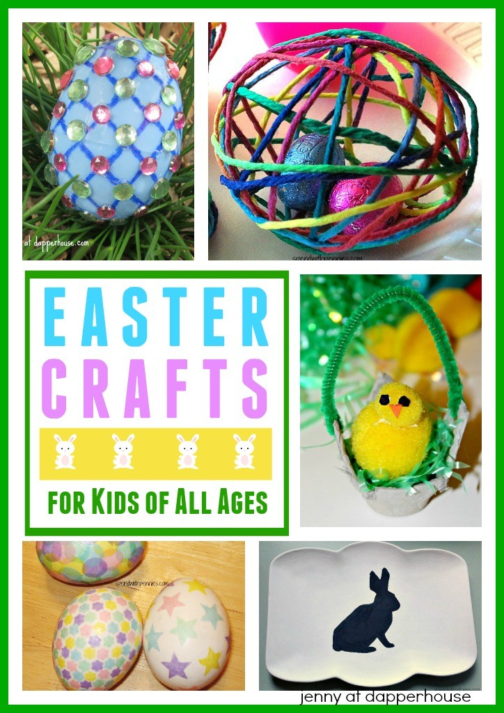 Easter crafts for kids of all ages from jenny at dapperhouse.com