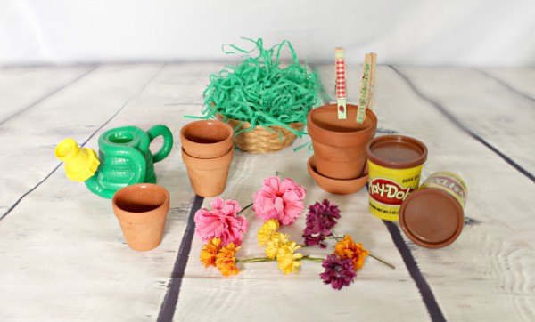 Flower Garden sensory learning activity supplies - jenny at dapperhouse