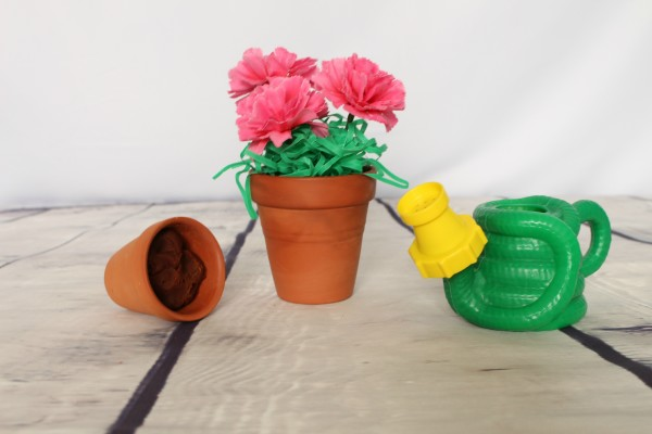 Flower garden sensory learning activity - jenny at dapperhouse