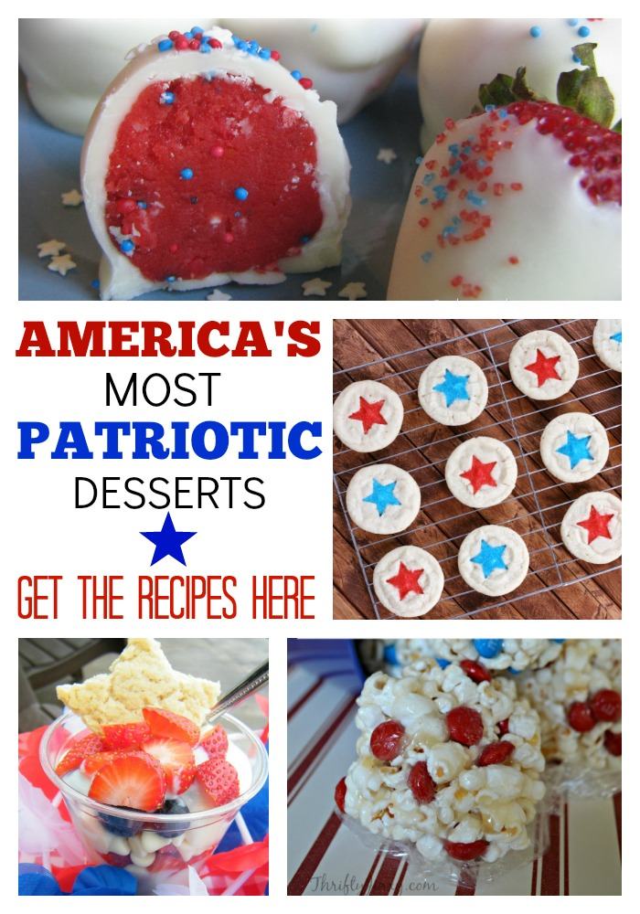 Americas Most Patriotic Dessert Recipes - Jenny at dapperhouse