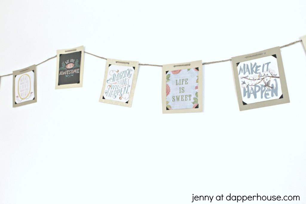 DIY Inspirational Banner 1