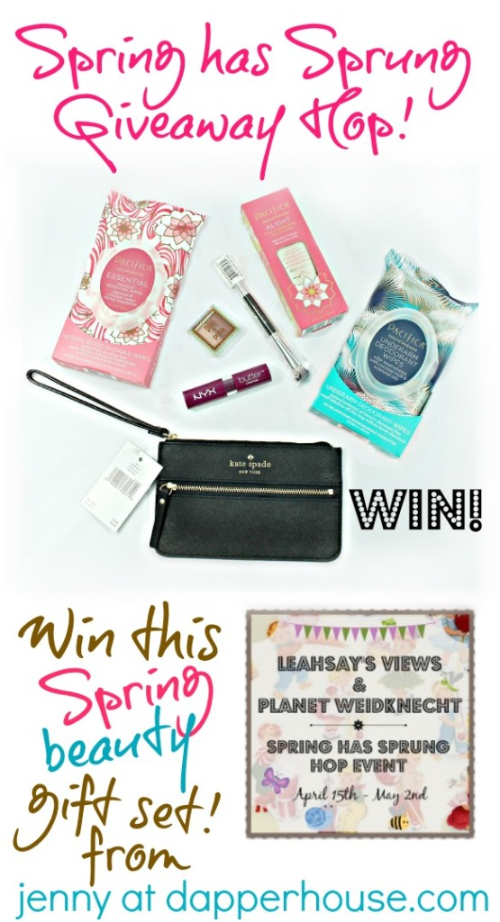 WIN this KAte Spade Beauty Gift Set from jenny at dapperhouse #win #Giveaway #spring @dapperhouse