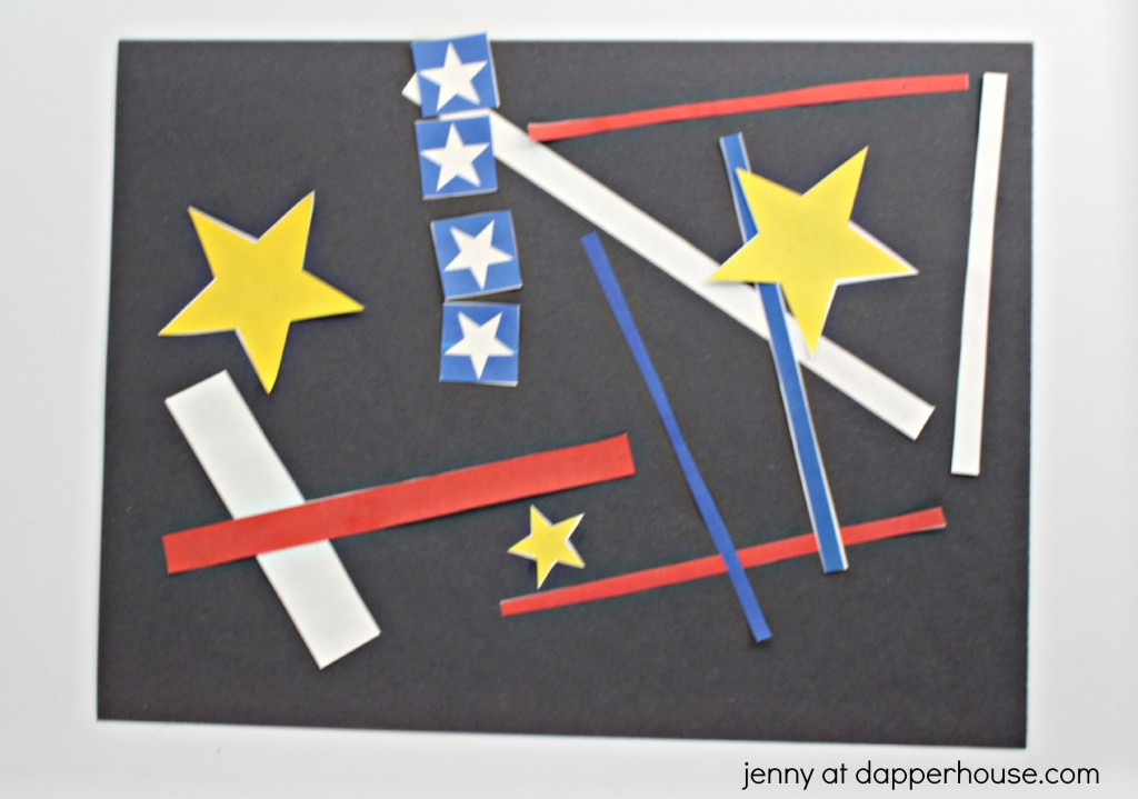 Celebrate america and patriotism with this free printable kids craft activity - jenny at dapperhouse