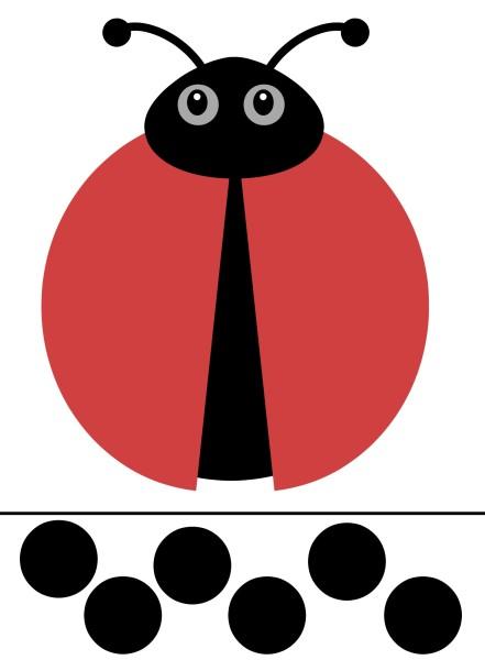 photo relating to Ladybug Printable identified as Free of charge Printable Ladybug Sport Small children Toys