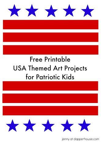 Free Patriotic printables 3