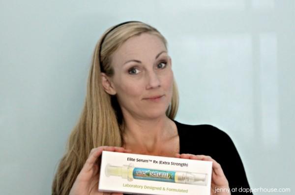 I love my elite serum rx Extra Strength - jenny at dapperhouse #eyes #wrinkles #aging  @eliteserum #BeaSkinPro #ad