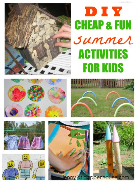 D I Y Cheap & FUN Activities for Kids - jenny at dapperhouse
