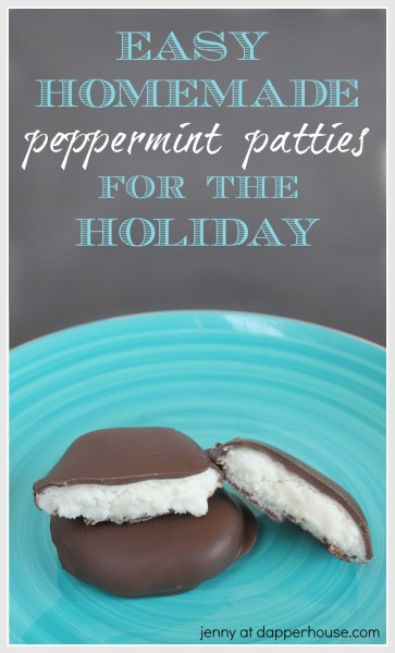 How To Make Easy Peppermint Patties At Home For The Holiday