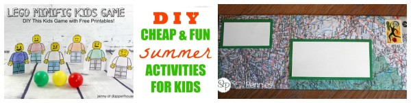 Fun DIY activities and Crafts for Kids This Summer - jenny at dapperhouse