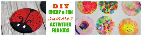Fun Easy Cheap DIY Summer Activities for Kids - jenny at dapperhouse