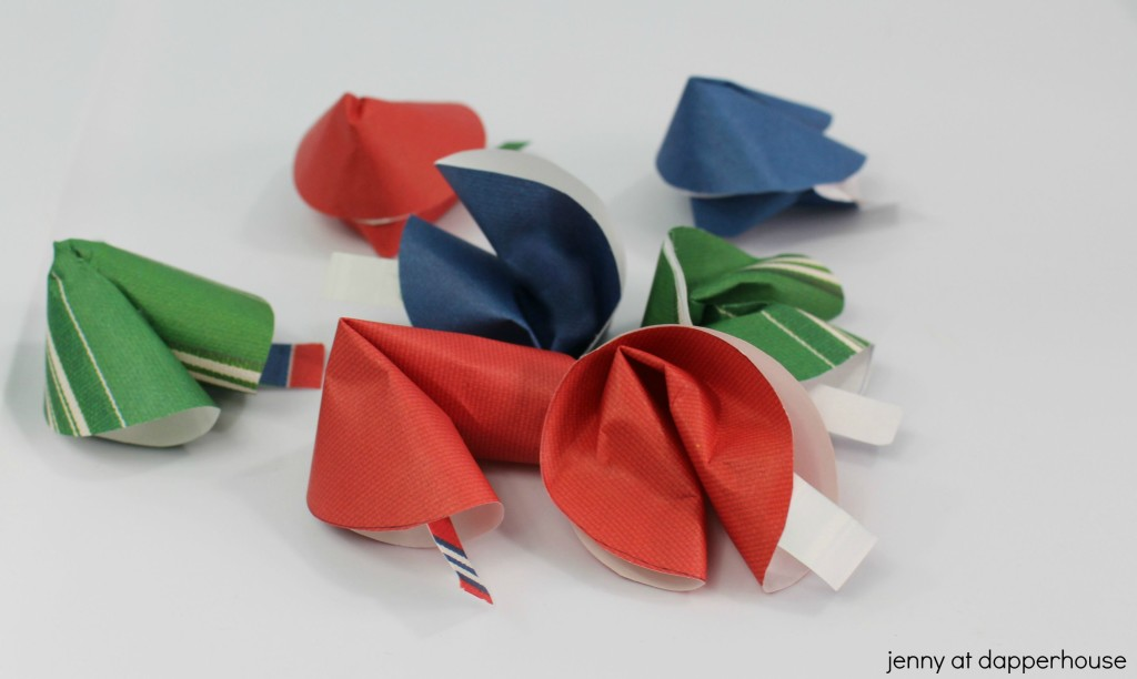 Paper Fortune Cookies Unique Notes for Any Occasion - jenny at dapperhouse