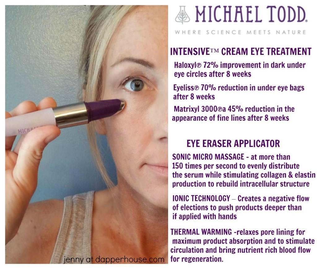 Michael Todd Eye Eraser Serum Treatment - jenny at dapperhouse #ad