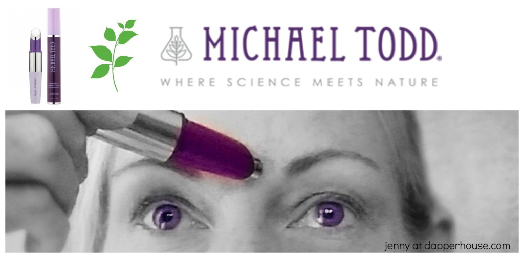 Michael Todd where science meets nature eye serum and applicator system review jenny at dapperhouse