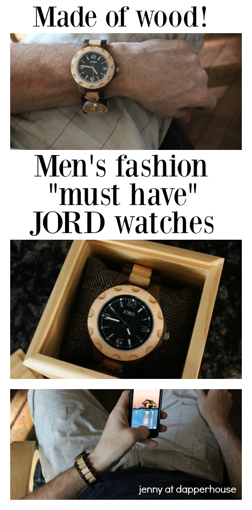 These watches are made of wood! Men and women - jenny at dapperhouse #AD
