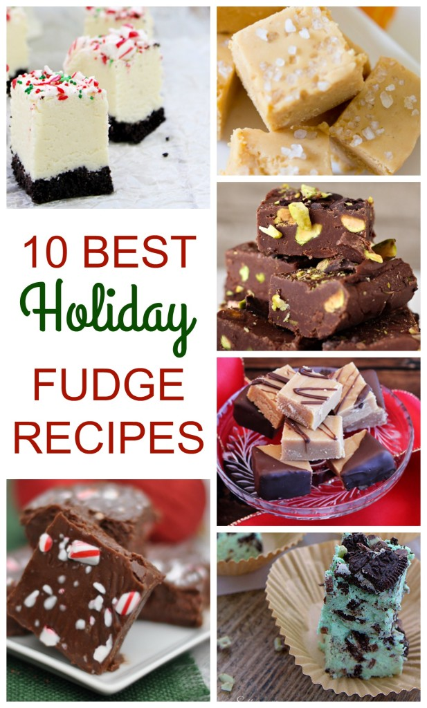 10 best holiday fudge recipes - jenny at dapperhouse