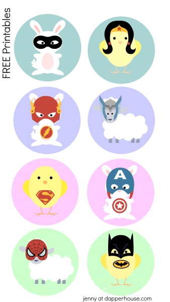 Free-superhero-Easter-printables-for-kids-from-jenny-at-dapperhouse.com-use-them-to-top-healthy-snacks-even-oatmeal-or-lasagna-for-a-fun-surprise-on-an-UN-ordinary-day--338x600