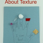 Learning About Texture - Kids Activity and Craft