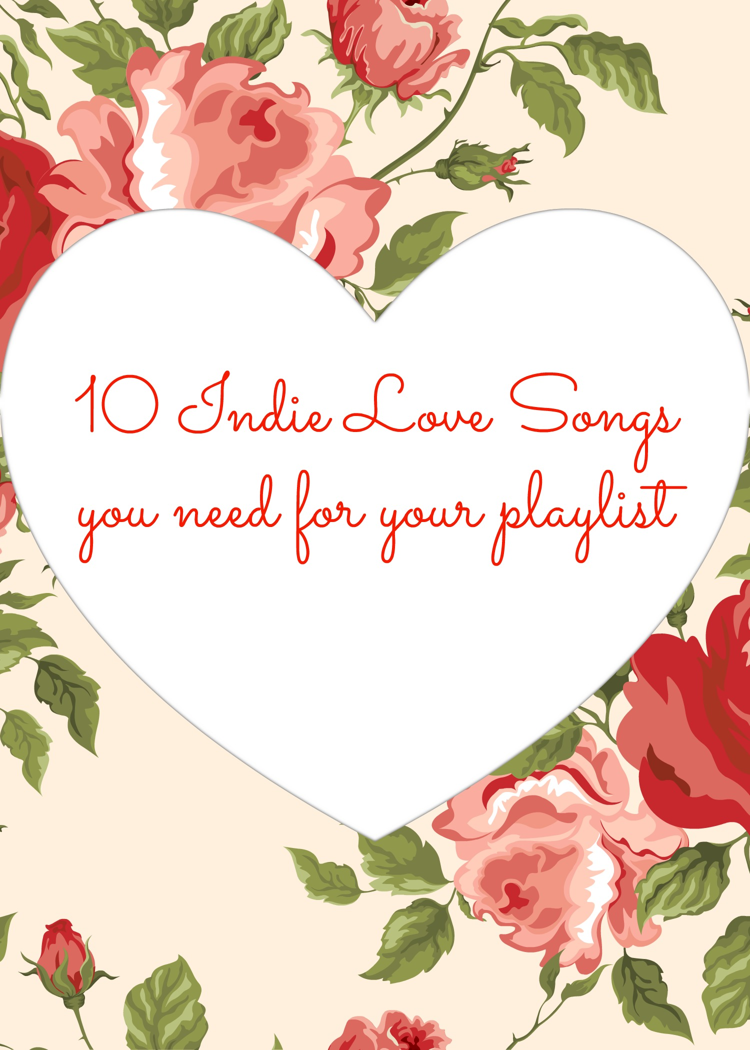 10 Indie Love Songs That You Need On Your Playlist