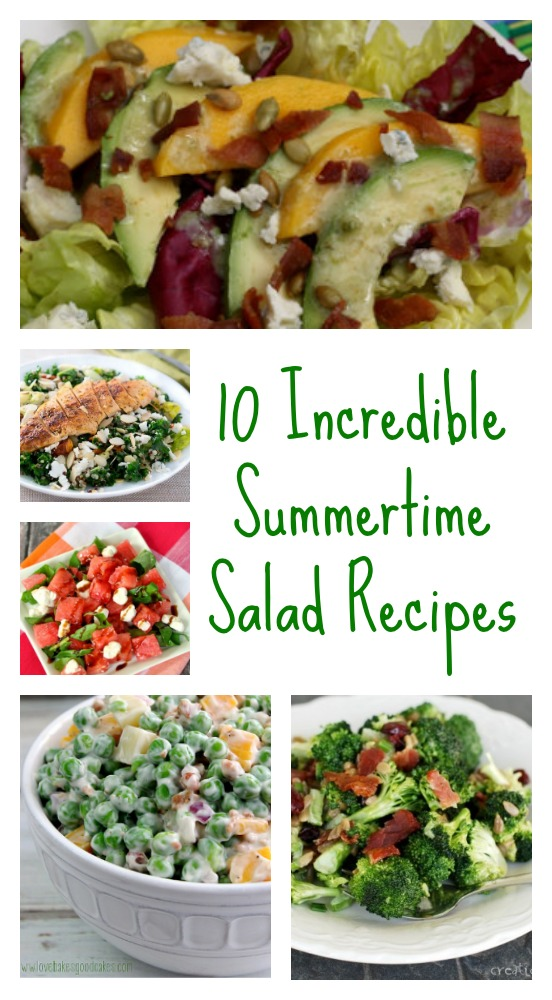 10 incredible summertime salad recipes - jenny at dapperhouse