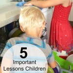 5 Important Lessons Children Learn from Chores