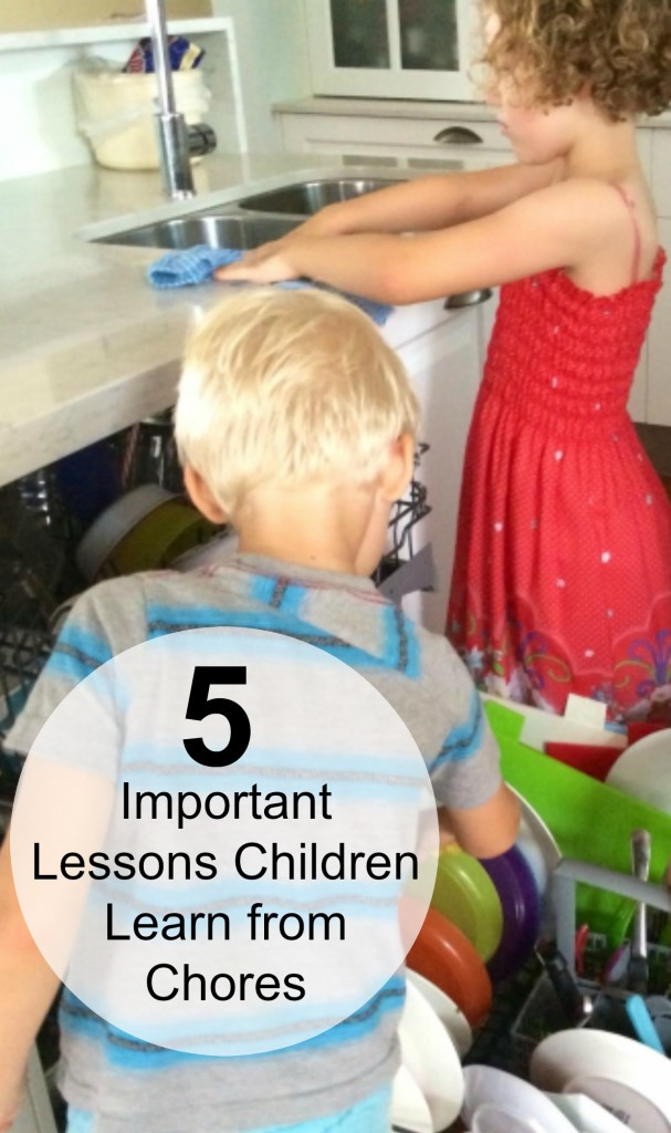 5 Important Skin Care Tips For Girls: 5 Important Lessons Children Learn From Chores