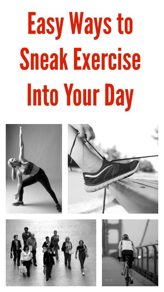 Easy Ways to Sneak Exercise Into Your Day - jenny at dapperhouse