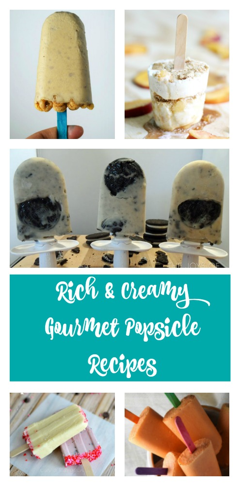 Rich & Creamy Gourmet Popsicle Recipes - jenny at dapperhouse