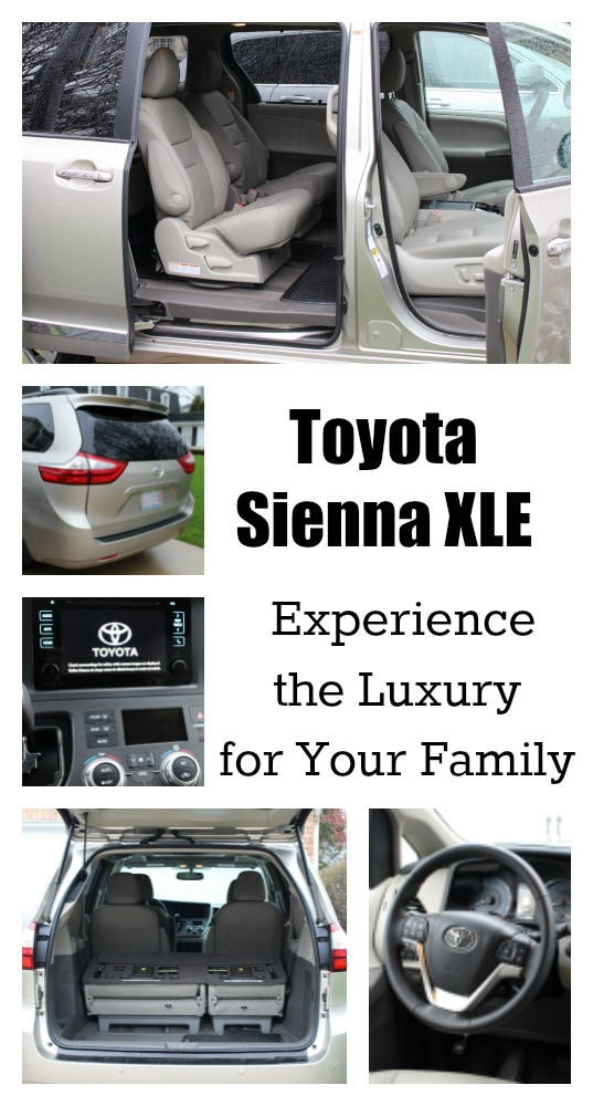 Toyota Sienna XLE - Experience the Luxury for Your Family - jenny at dapperhouse #toyota #minivan #sienna #swaggerwagon