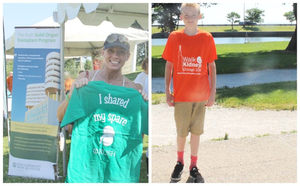 Cool event tees at the Kidney Walk in Chicago 2016 - jenny at dapperhouse