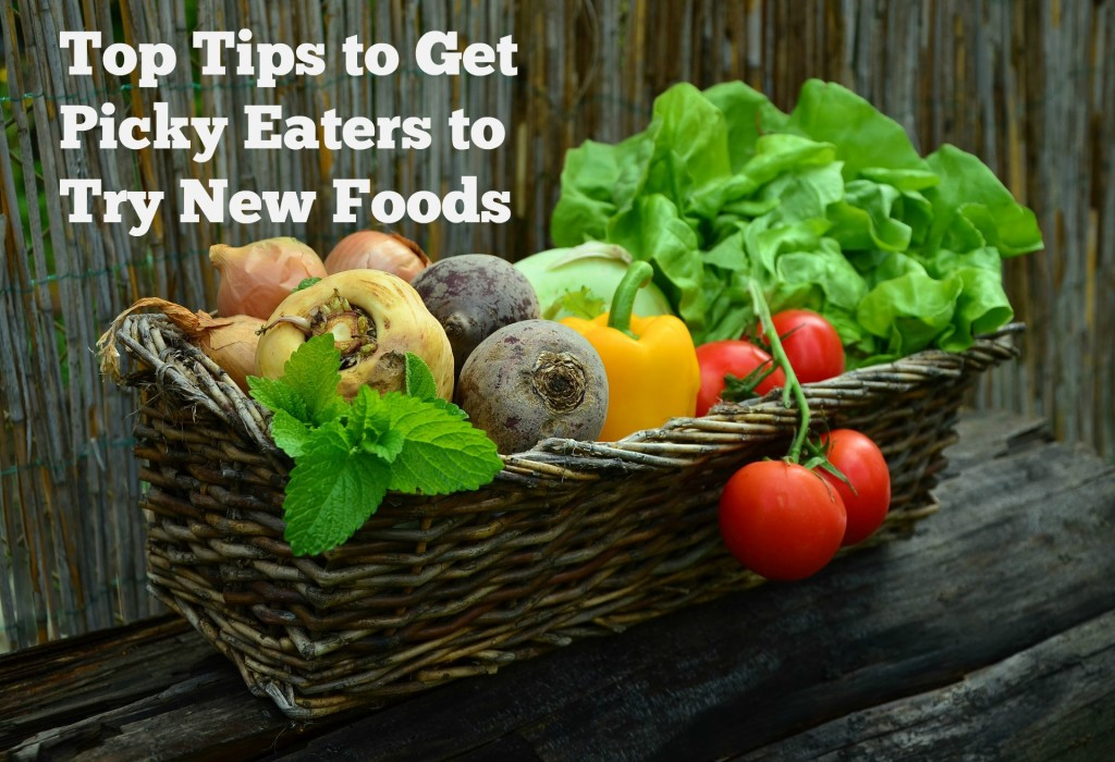 Tips to get Picky Eater to Try New Foods - jenny at dapperhouse
