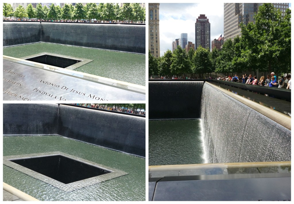 911 Reflecting Pond Memorial in New York - jenny at dapperhouse