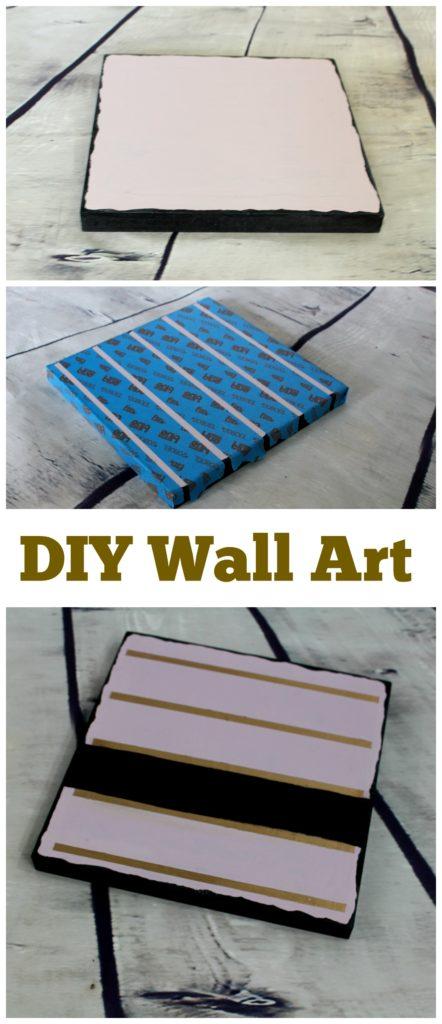 DIY wall art - jenny at dapperhouse