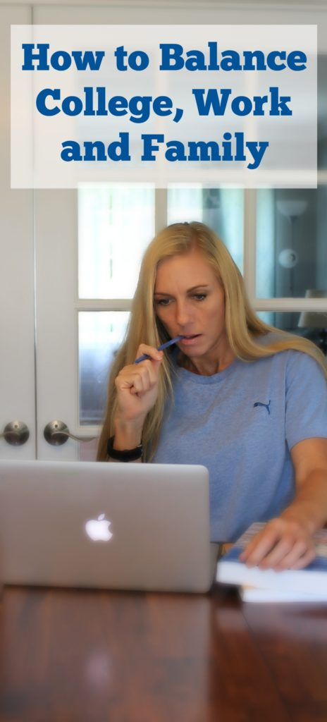 How to Balance College work and family - jenny at dapperhouse