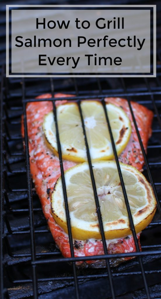 How to Grill Salmon Perfectly Every Time - jenny at dapperhouse