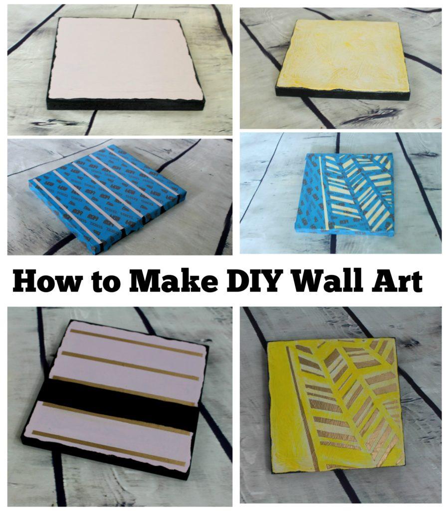 How to Make DIY Wall Art  - jenny at dapperhouse