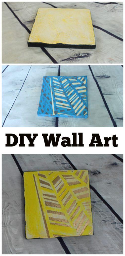Wall Art How to DIY - jenny at dapperhouse