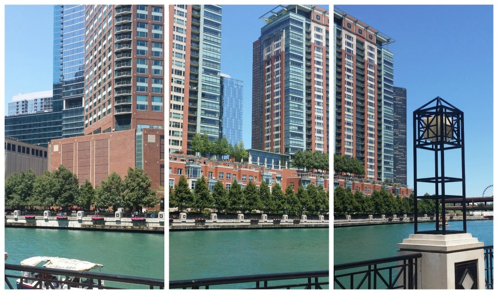 river walk chicago across the river view - jenny at dapperhouse #travel #chicago