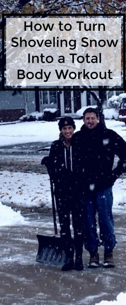 turn shoveling snow into a total body workout - jenny at dapperhouse - health, fitness, exercise