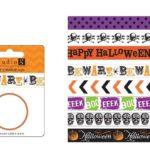 DIY Washi Tape Halloween Candles