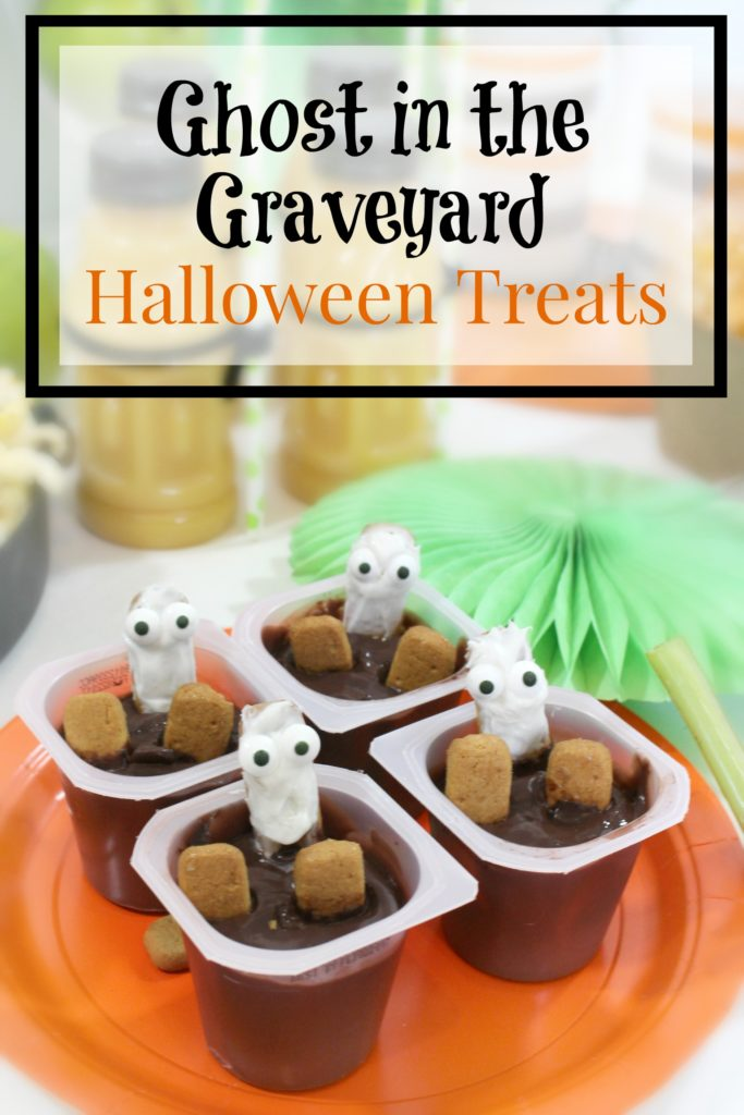 DIY Halloween Party Treats - Ghost in the Graveyard - jenny at dapperhouse blog