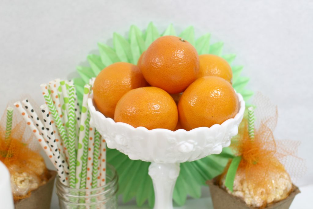 Fresh Tangerines are part of How to throw a healthy halloween party - jenny at dapperhouse blog