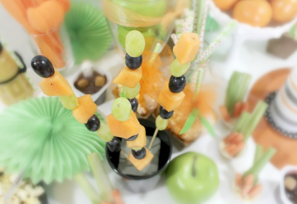 Halloween Foodtivity for kids healthy snack - jenny at dapperhouse
